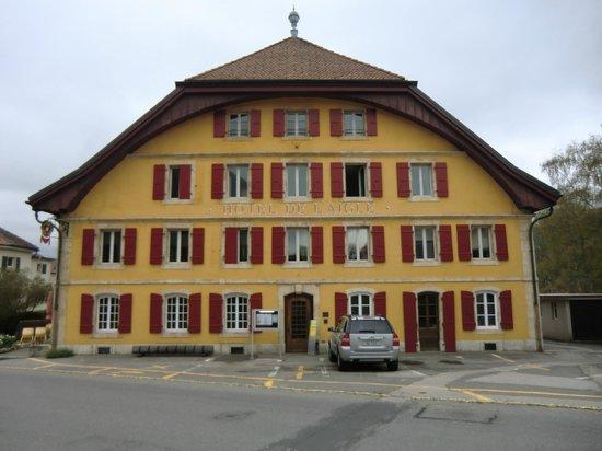 Hôtel de l'Aigle : Ingresso principale