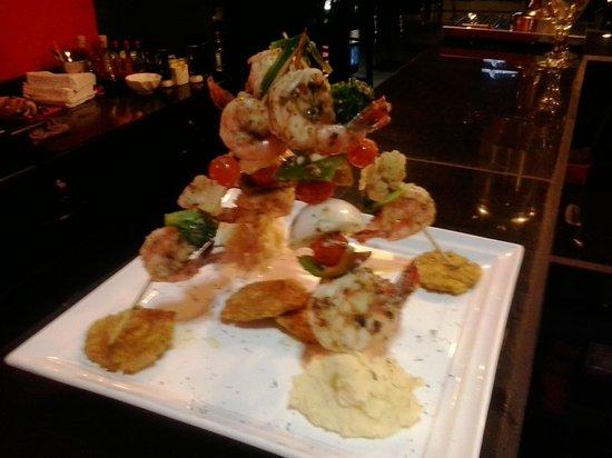 Restaurante Mira Miro: Camarones Jumbo