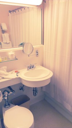 Chancellor Hotel on Union Square: Small but cute bathroom. Everything you need