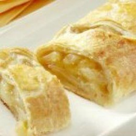 yummy crisp apple struedel from local bakery Picture of 1870