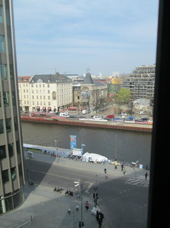 Melia Berlin: View from our room (643)