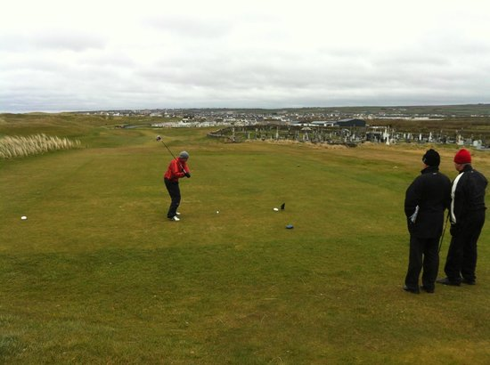 Ballybunion Golf Club: Teeing off on #1, Old Course