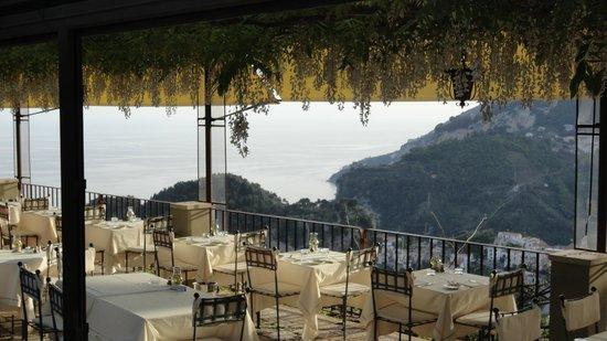 Villa Maria Hotel: vue de la terrasse