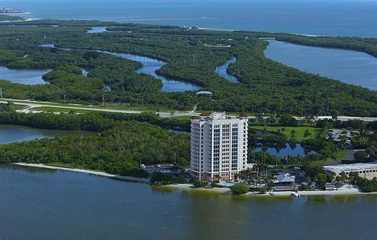 Lovers Key Resort: Aerial of Lovers Key State Park
