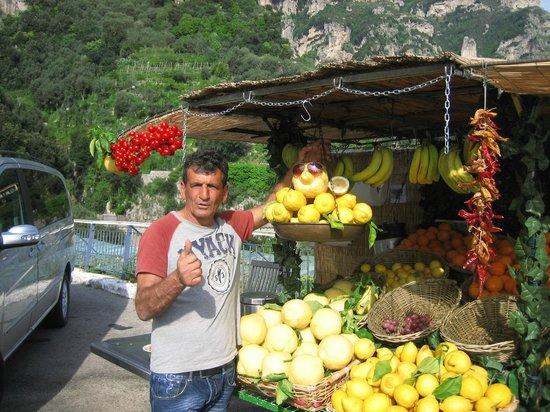 Astarita Car Service Sorrento: Amalfi Coast lemons