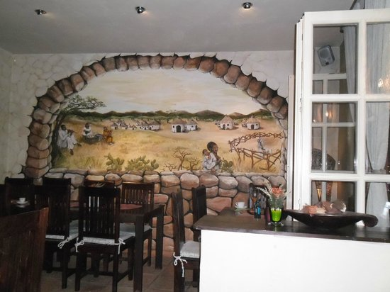 Savanna: Wall painting