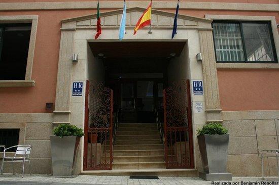 Vila Da Guarda Hotel: Entrada al hotel