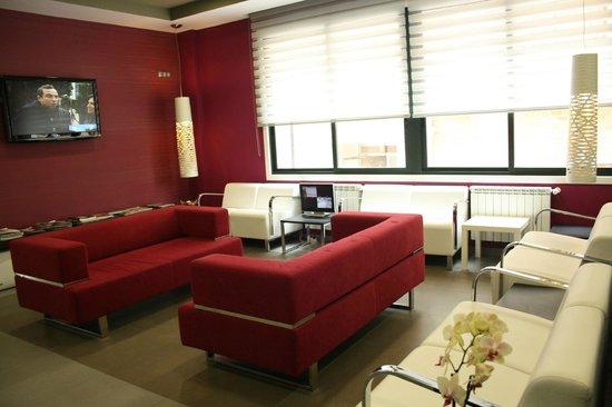 Vila Da Guarda Hotel: Salon  television