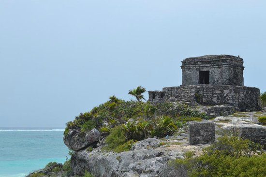 Tulum Maya Harabeleri: Ruins on the coast