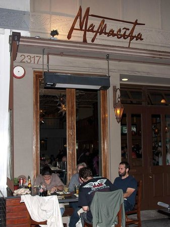Mamacita Restaurant & Bar : We got a table outside
