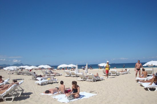 Belmond Copacabana Palace: Beach Service