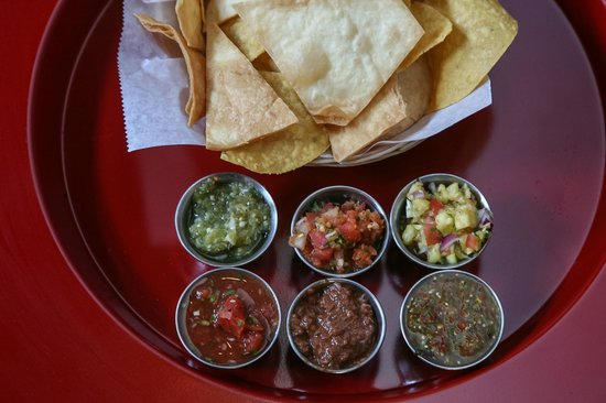 Carrburritos: House made salsas