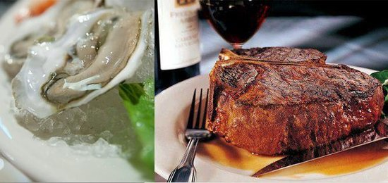 Morton's - The Steakhouse: Oysters and Steak