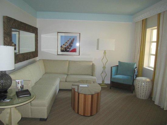 Omni Amelia Island Plantation Resort: Sandpiper suite sitting area