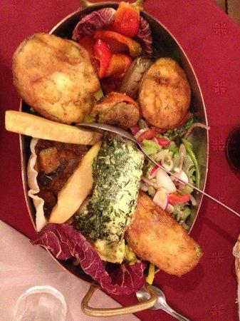 Lou Balico : assiette niçoise