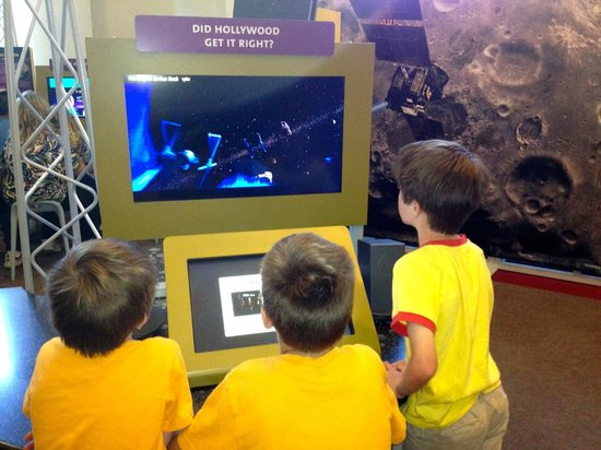 Fleet Science Center : new Asteroids & Meteors exhibigt