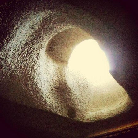 Vezir Cave Suites: our cave's ceiling!