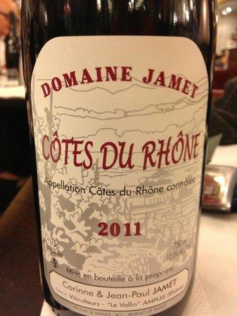 Le Petit Sommelier : Côtes du Rhône... de chez Jamet, (fameux en Cotes Rôties)