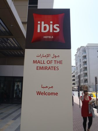 Ibis Mall Of The Emirates: Entrada