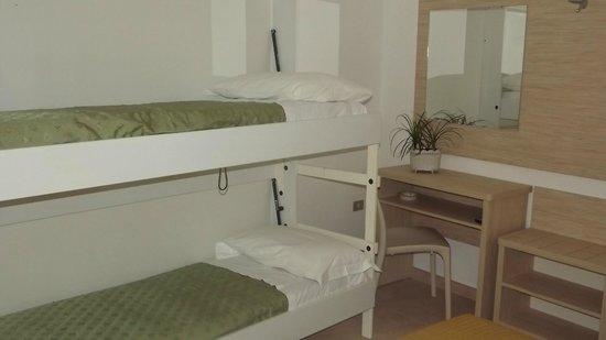 Camere dell'HOtel Plaza di Rimini