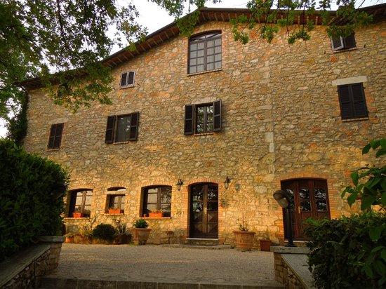 Villa Selva Country House : Villa Selva, la struttura al crepuscolo
