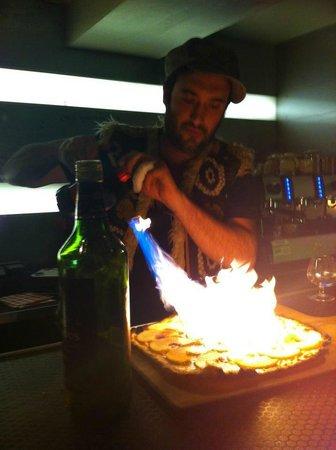 La Binchstub: Tarte flambées sucrée Pommes Cannelles !