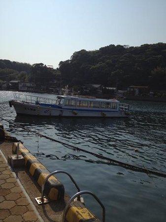 Marinepal Yobuko : the tour boat going to nanatsugama caves