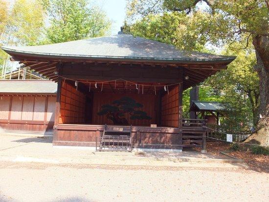 Tokiwa Shrine: 能楽堂
