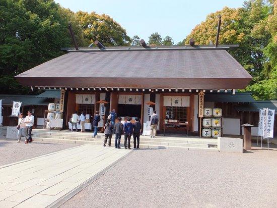 Tokiwa Shrine: 本殿