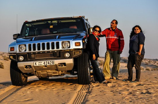 Sand Trax Dubai Desert Safaris
