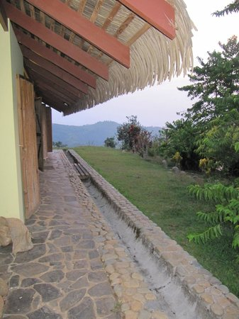 Farm of Life (Finca de Vida): Outside harvest house