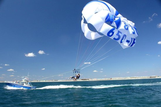 Goin' Coastal Parasailing: Thrilling and Fun for the Entire Family.