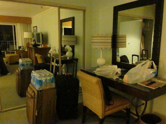 Loews Coronado Bay Resort: Desk area