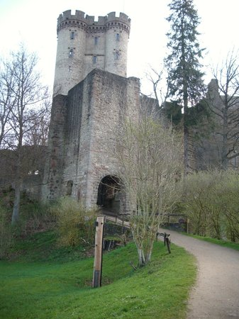 Daun, Germany: De burcht.