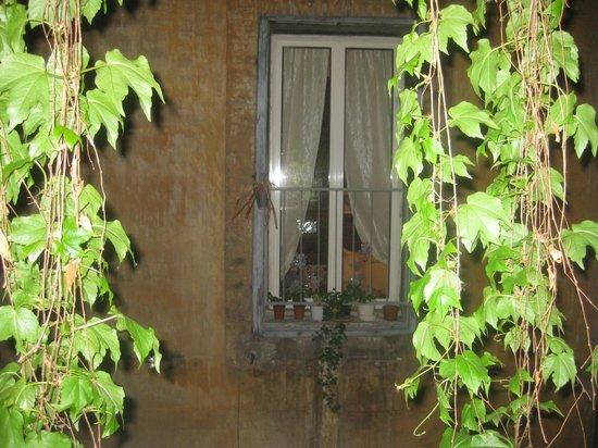 Antica Dimora de Michaelis : outside window