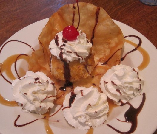 Mexicali Grill: Fried Ice Cream