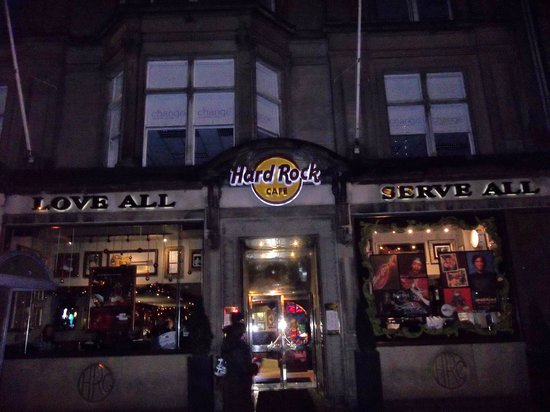 Hard Rock Cafe Edinburgh Reviews