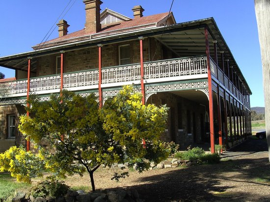 The Shirley Hotel Bed & Breakfast: The southern end of the hotel