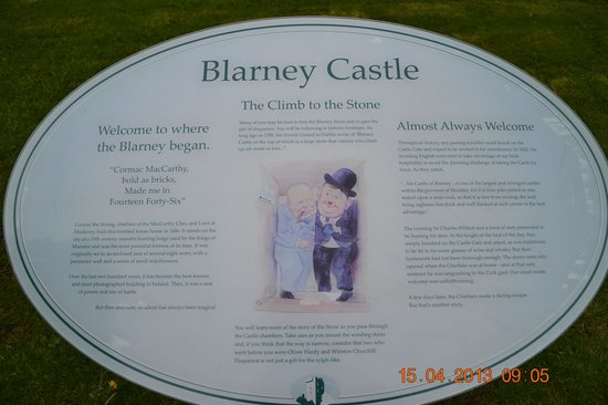 Blarney Castle & Gardens: Climb to the Stone