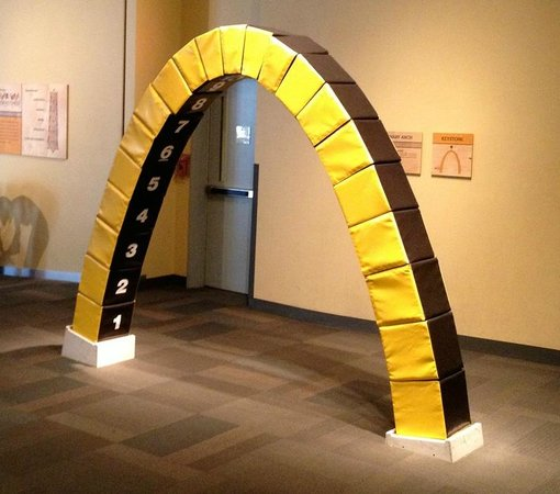Designs Science Center: Building An Arch With Blocks