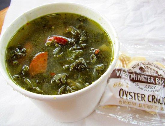 John's Footlong: Wonderful Portuguese Kale Soup