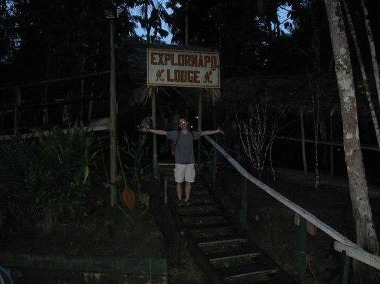 ExplorNapo Lodge: ExploraNapo Lodge entrance