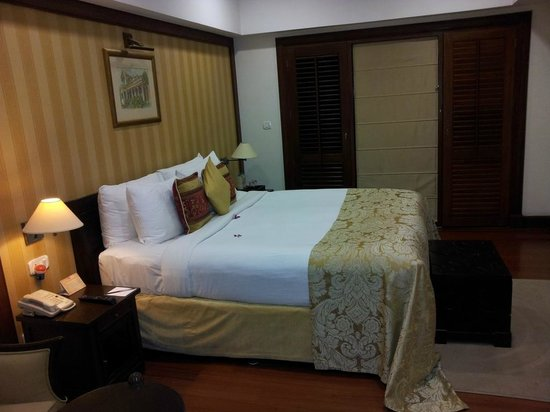 The Paul Bangalore: Great comfy beds and large bedrooms.