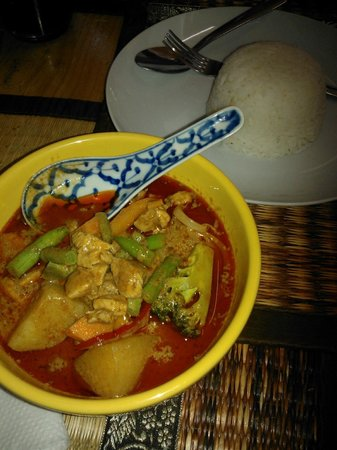 Comida Thai: curry delicoso