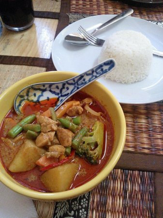 Comida Thai : curry