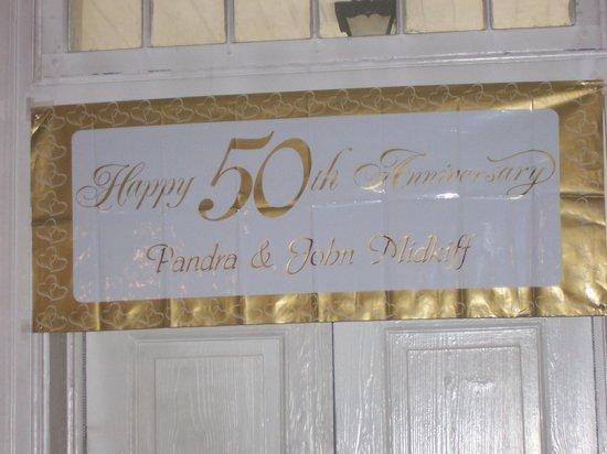 Lafayette Inn & Restaurant : Banner