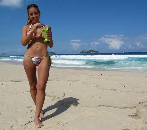 Sheraton Barra Rio de Janeiro Hotel: playa del sheraton barra- rio de janeiro