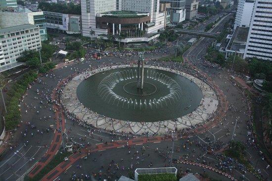 Mandarin Oriental, Jakarta: Plaza Indonesia with fountain