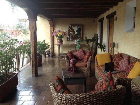 Hotel Meson de Maria: My favorite spot to read