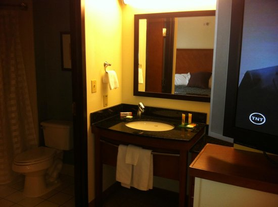 Hyatt Place San Antonio Northwest : Bathroom
